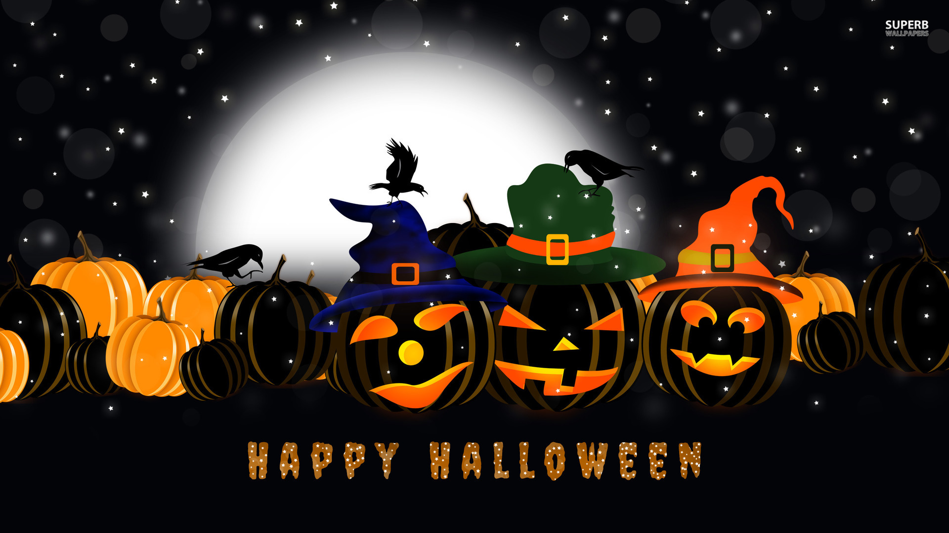 family games - Halloween Party Wallpaper